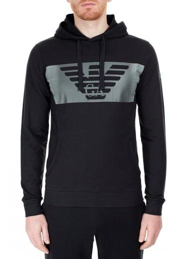 EA7 Emporio Armani  Regular Fit Sweat Erkek Sweat S 6Gpm56 Pj05Z 1200 Siyah